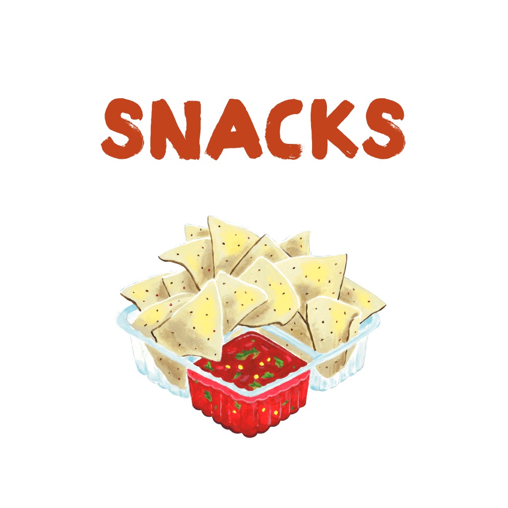 <H1> Snacks, Desserts and Small Dishes