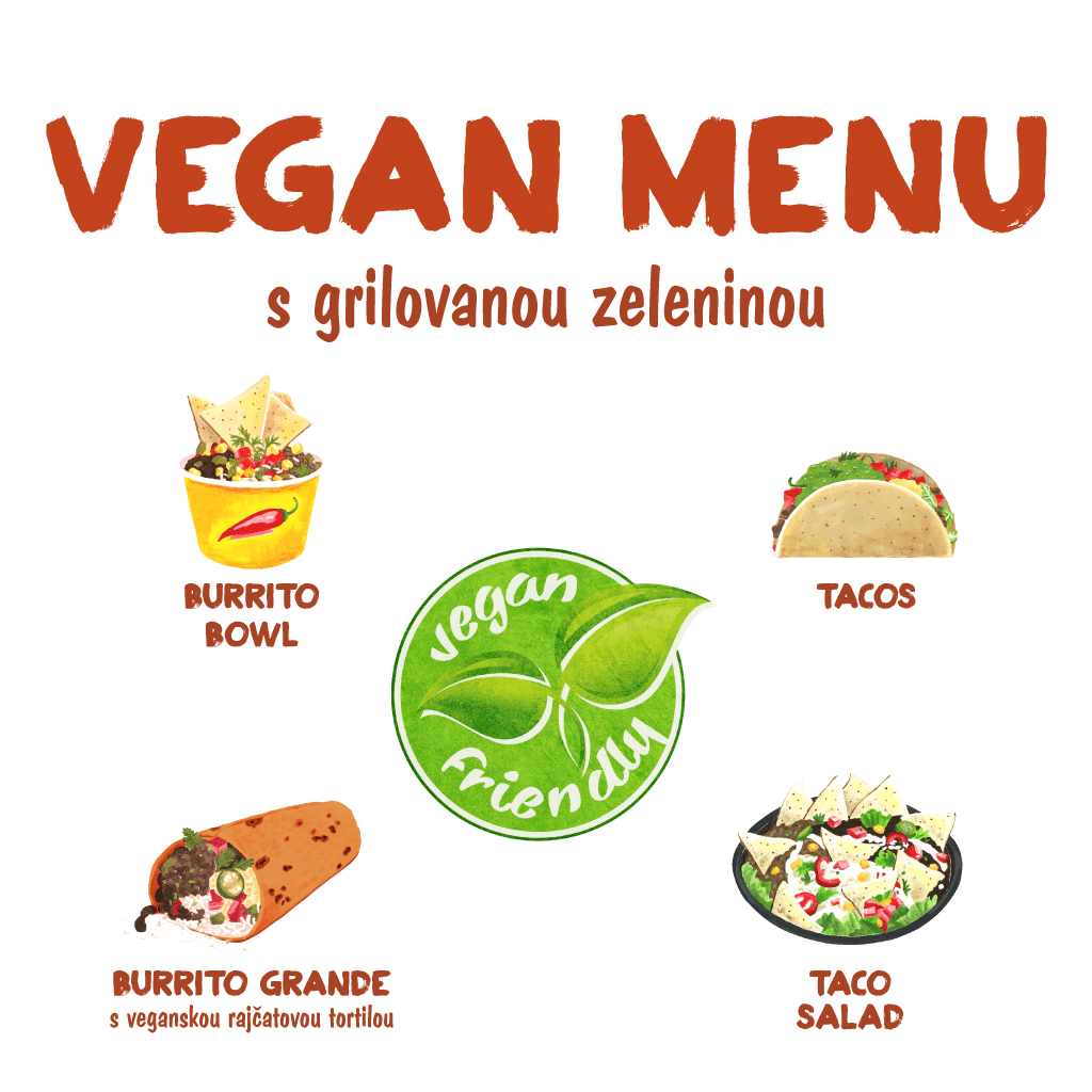 <H1> Vegan versions of our classic dishes served with grilled vegetables.
