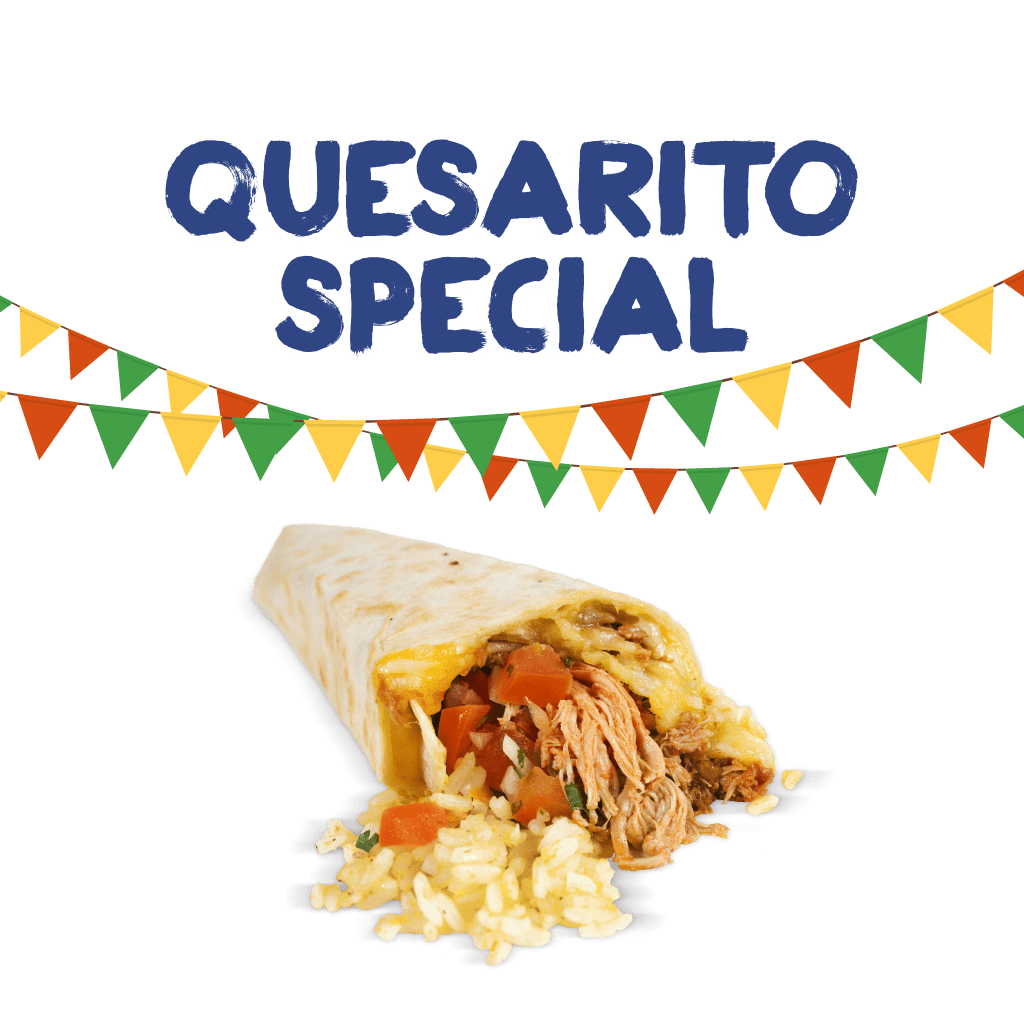<H1>An amazing cheesy combination of a quesadilla and a burrito!