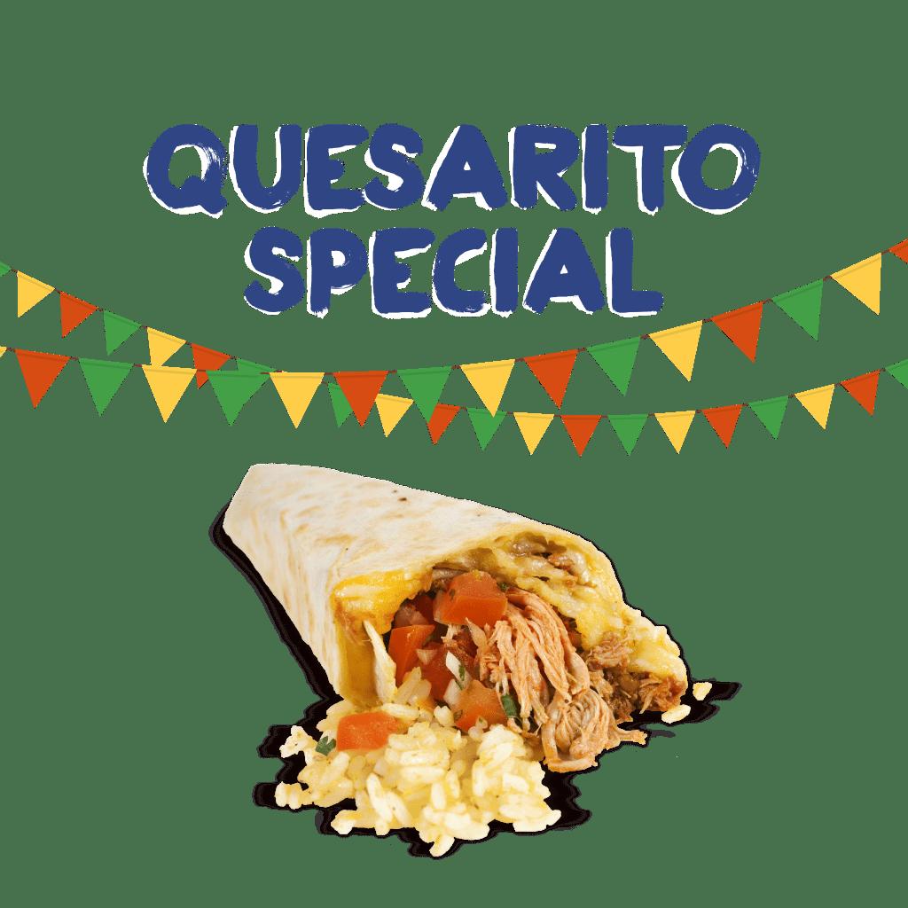<H1> Láskyplné spojení burrita a quesadilly. Na venek zapečená křupavá quesadilla, uvnitř šťavnaté burrito!